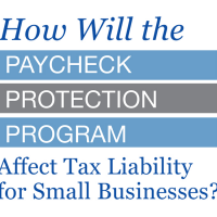 How Will the Paycheck Protection Program  Affect Tax Liability for Small Businesses?