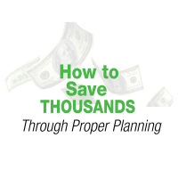 How to Save Thousands through Proper Planning