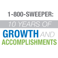 1-800-SWEEPER: 10 Years of Growth and Accomplishments