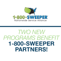 Two New Programs Benefit 1-800-SWEEPER Partners!