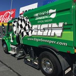 Elgin Sweeper Joins Nascar Green® To Support New Track Drying Initiative